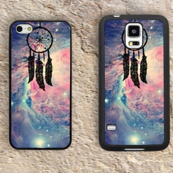 Dreamcatcher iPhone Case-dream catcher iPhone 5/5S Case,colourful clouds iPhone 4/4S Case,iPhone 5c Cases,Iphone 6 case,iPhone 6 plus cases,Samsung Galaxy S3/S4/S5-006