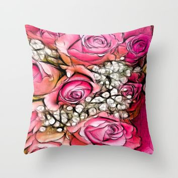:: Hello, My Love :: Throw Pillow by :: GaleStorm Artworks ::
