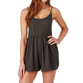Billabong Roadie Playsuit - Off Black