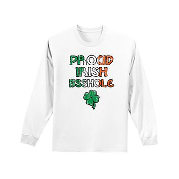 St. Patrick's Day Unisex Long Sleeve Shirt - Choose From Many Fun Designs!