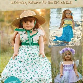 Doll Costume Dress Up: 20 Sewing Patterns for the 18-inch Doll