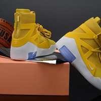 Nike Air Fear of God 1 - Yellow/White