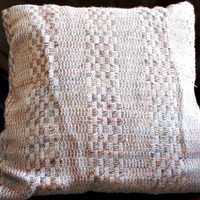 multicolored Handwoven Pillow