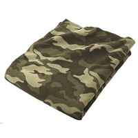 Camo Fleece Throw Oversized Blanket - 54x64""