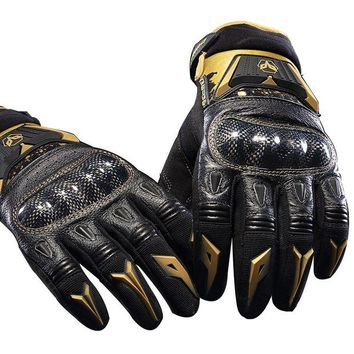 ac NOOW2 genuine leather Duhan DS03 Motorcycle gloves autumn riding knight men gloves off-road racing gloves motorbike crash-proof GDS03