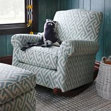 Attractive American Rocker (Pattern) in Rockers & Gliders | The Land of Nod