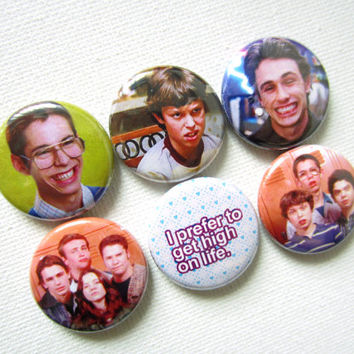 Freaks and Geeks Pinback Button Set