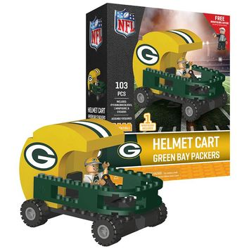 Green Bay Packers: Helmet Cart | OYO Sports | Minifigures & Buildables