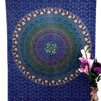 Wall Hanging , Tapestry, home decor, mandala tapestry