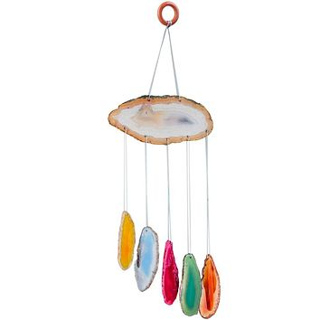 Colorful Agate Sun Catcher