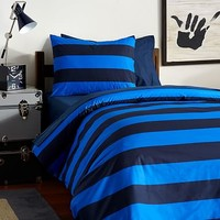 Rugby Stripe Deluxe Value Duvet Set