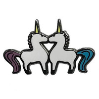 Ceramic Unicorns Pin