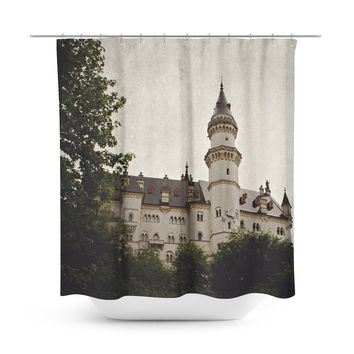 Neuschwanstein Castle Shower Curtain