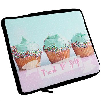Treat Yo Self Cupcakes iPad Tablet Sleeve