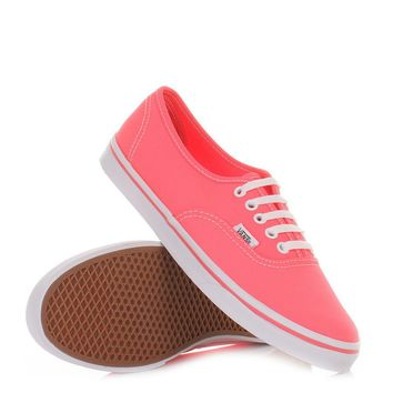 Vans Authentic Lo Pro (Neon Pink) Shoes Womens Shoes at 7TWENTY Boardshop, Inc