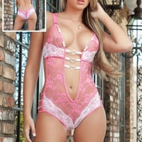 1pc Play & Tease Teddy Lingerie Set