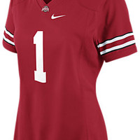 The Nike College Game (Ohio State) Women's Football Jersey.