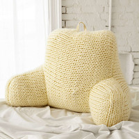 Plum & Bow Chunky Knit Boo Pillow - Urban Outfitters