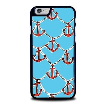 lilly pulitzer anchor iphone 6 6s case cover  number 1