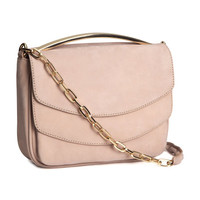 Leather Shoulder Bag - from H&M