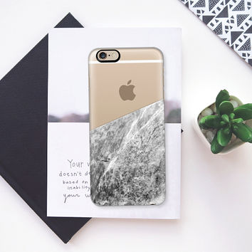 Marble - Transparent iPhone 6s case by Nicklas Gustafsson | Casetify