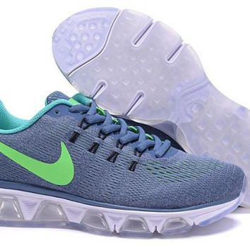 Nike Air Max Tailwind 8 Blue & Green Girl Sneakers Running Shoes