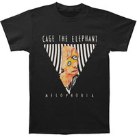 Cage The Elephant Men's  Melophobia 2014 Tour T-shirt Black Rockabilia