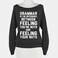 Grammar Makes A Big Difference