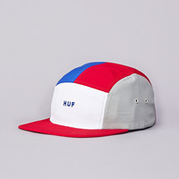 Flatspot - Huf Lo-Down 5 Panel Cap Red / White / Blue