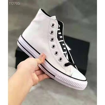 Converse All Star Popular Women Men Canvas High Top Sport Shoes Sneakers