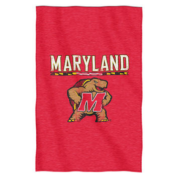 Maryland Terps NCAA Sweatshirt Throw