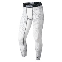 Jordan Compression Flight Flex Men's Training Tights, by Nike Size 3XL (White)