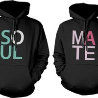 Soulmate Matching Couple Hoodies (Set) - 365 IN LOVE