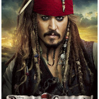 Pirates of the Caribbean On Stranger Tides Poster 11x17