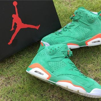 "Nike Air Jordan 6 Retro ""Gatorade?¡À Basketball Shoe US8-13"