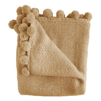 Jubilee Camel Boucle Throw