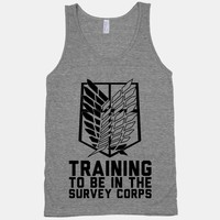 Training To Be In The Survey Corps
