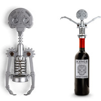 Kikkerland Design Inc » Products » Skull Corkscrew