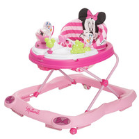 Disney 3D Glitter Minnie Mouse Music and Lights Walker WA067CMH