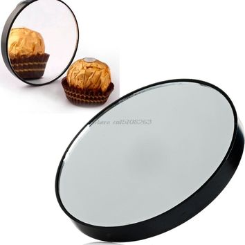 Magnifying Mirror 10X Suction Cup Makeup Compact Mirror Cosmetic Shave Travel -Y207 Drop Shipping