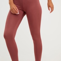 Rose Corset Detail Leggings