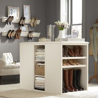 Sutton Closet Island | Pottery Barn