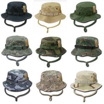 Rapid Dominance Camo Military Boonie Hunting Army Fishing Bucket Jungle Cap Hat