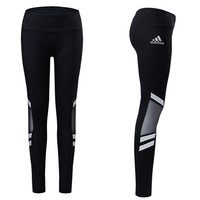 Adidas Solid Gym Yoga Running Leggings Pants Trousers Sweatpant