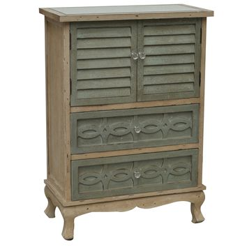 Biscayne 2 Drawer 2 Door Cottage Cabinet