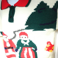 Tacky Christmas Sweater Hasting & Smith XL