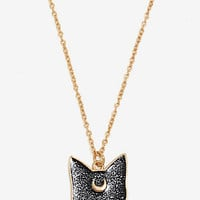 Sailor Moon Luna Galaxy Necklace