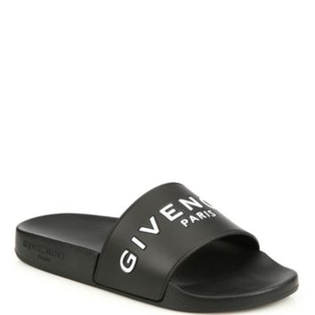 Givenchy - Printed Rubber Logo Slides