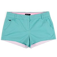 The Brighton Chino Short in Antigua Blue by Southern Marsh