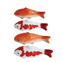 Stoneware Floating Fish | 4-in